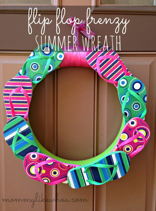 8-summer-wreath-tutorials-ideas