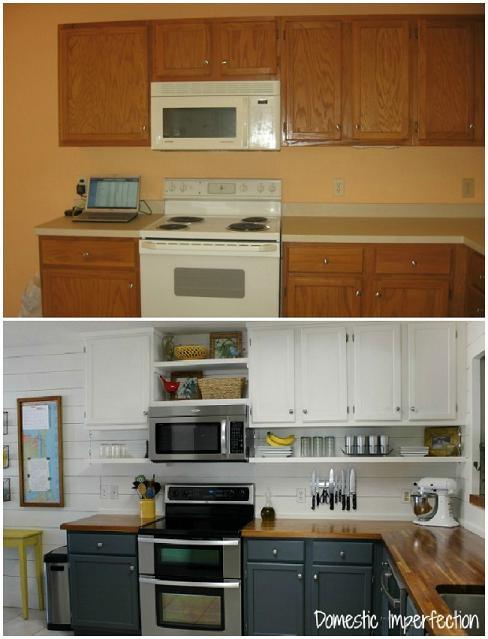 amazing-kitchen-remodel-diy-makeover