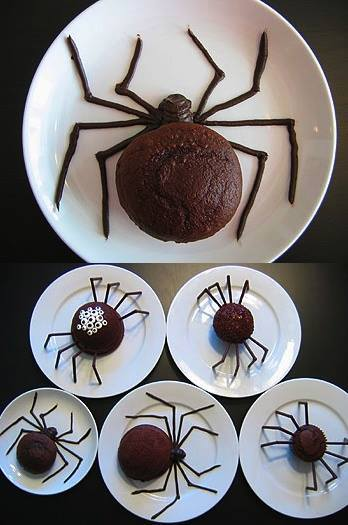 fun-spider-cakes-for-halloween