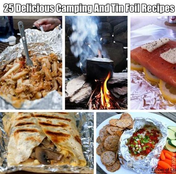 Camping Food Ideas In Foil: Yummy Camping And Tin Foil Recipes