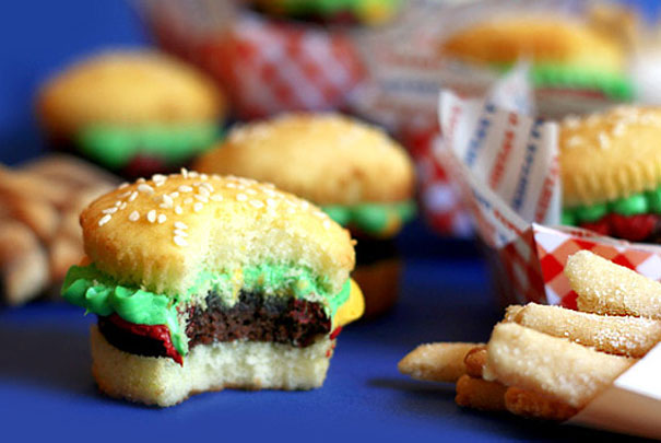 ... Decorating Ideas | best stuff. Burger Cupcakes & muffin decorating ideas | My Web Value