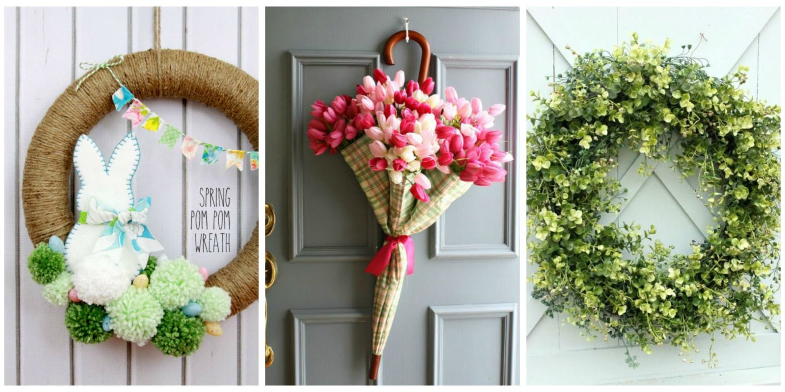 Amazing Amazing DIY Wreaths To Dress Up Your Door This Spring