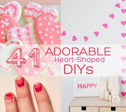 Awesome DIY Valentine\'s Day Ideas - DIYCraftsGuru