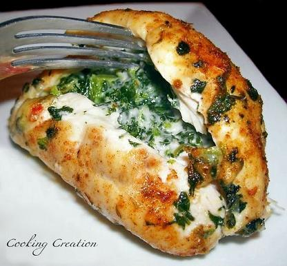 cajun-stuffed-chicken-with-peppers-and-spinach-recipe
