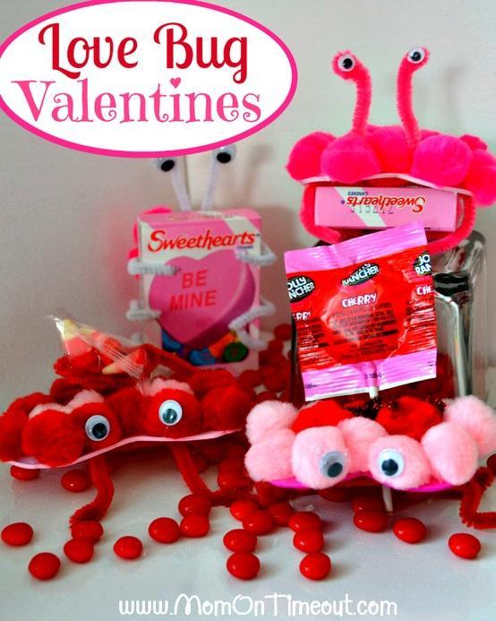 diy love bug valentines