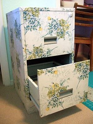 mod-podge-decoupage-filing-cabinet
