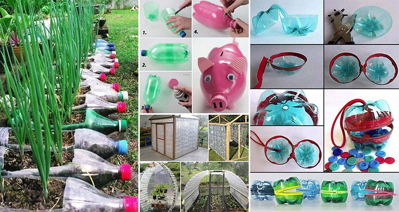 Creative ways to reuse plastic bottles diycraftsguru for Creativity with plastic bottles
