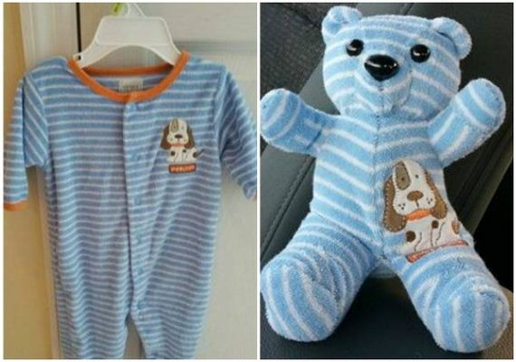 Making Baby Clothes Into Toys
