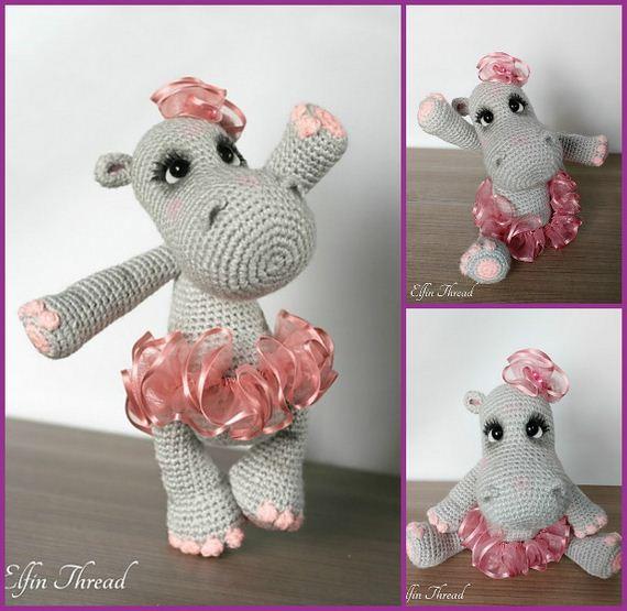 Amigurumi Pattern: Baby Kit - Hippo Melman - Tarturumies | 555x570