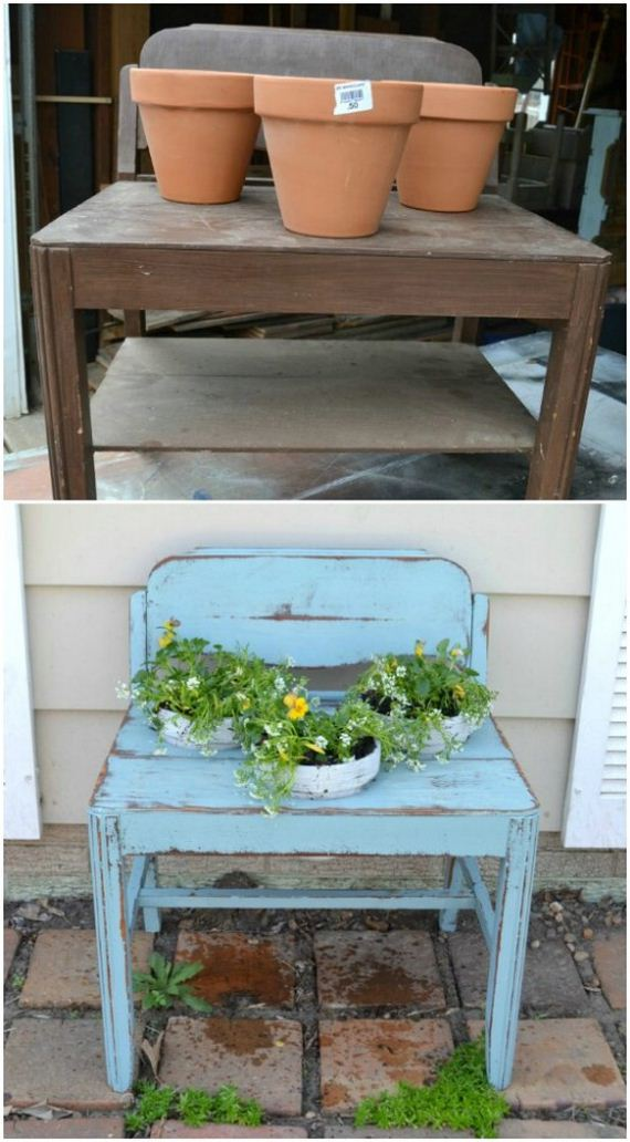 Hot To Incorporate Old Furniture Into Your Garden Design