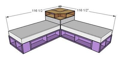 ... Twin Beds Set. Corner Hutch Tutorial