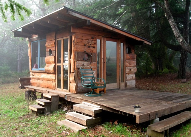 Deep Woods Tiny House In Northern California - Diycraftsguru