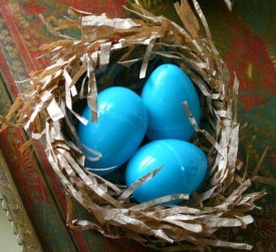 Amazing easter craft ideas diycraftsguru colorful hanging easter eggs negle Gallery