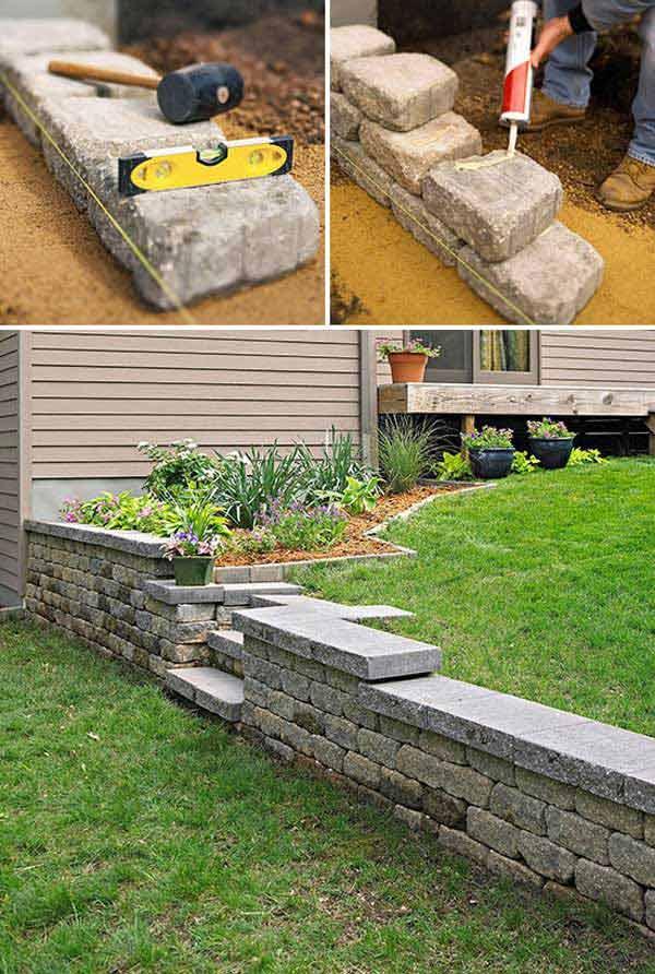 Crafts With Concrete Garden Art