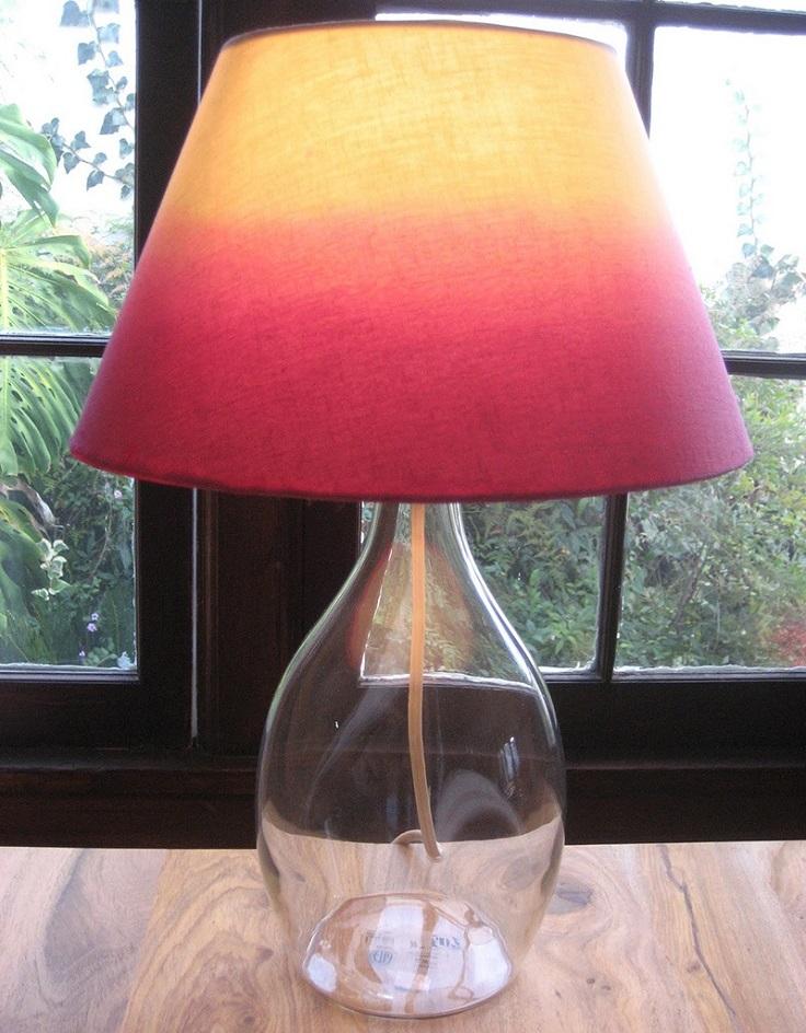 Cool diy creative lamp revamps diycraftsguru for Cool diy lamps