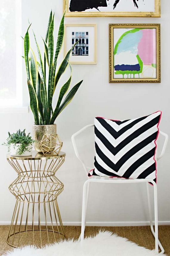 Black and White DIY Room Decor Projects - DIYCraftsGuru