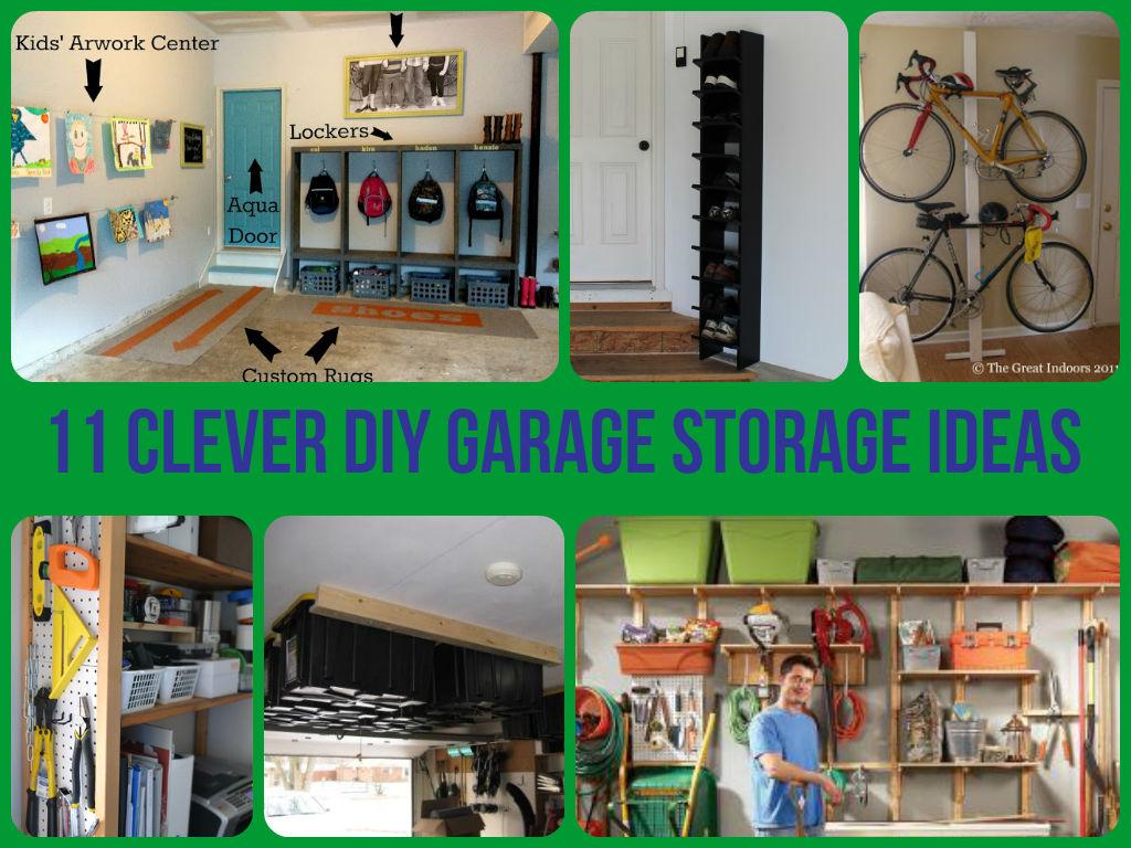 amazing garage storage ideas - diycraftsguru