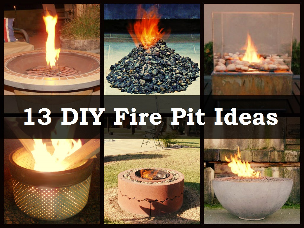 DIY Fire Pit Ideas - DIY Fire Pit Ideas - DIYCraftsGuru