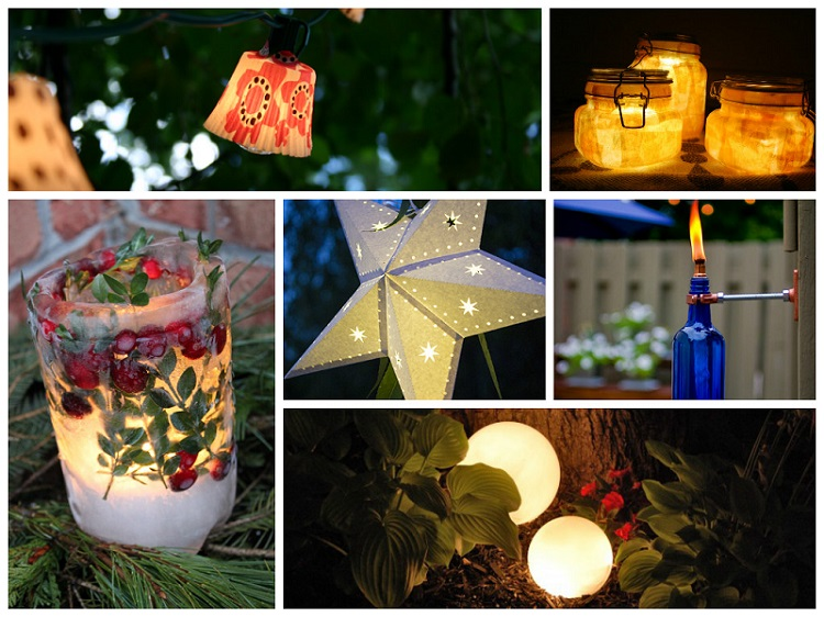 awesome diy outdoor lighting ideas - diycraftsguru