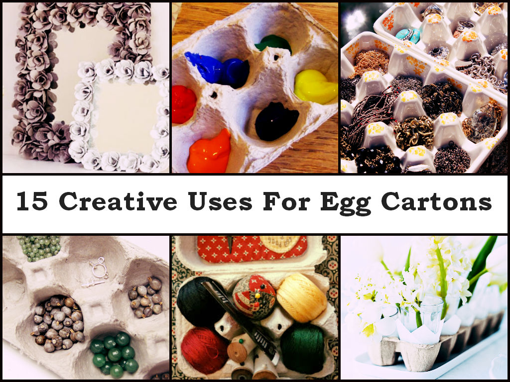 Unique uses for egg cartons diycraftsguru for Design your own egg boxes