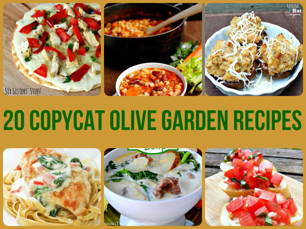 copycat olive garden recipes diycraftsguru