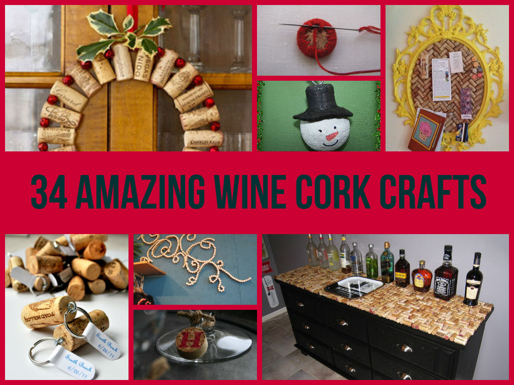 wine cork ideas crafts awesome wine cork crafts diycraftsguru 5726