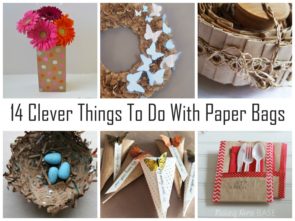 Clever Things To Do With Paper Bags Diycraftsguru