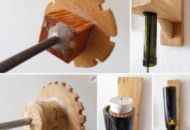 Awesome things to do with wine bottles in the garden for Cool things to do with a wine bottle