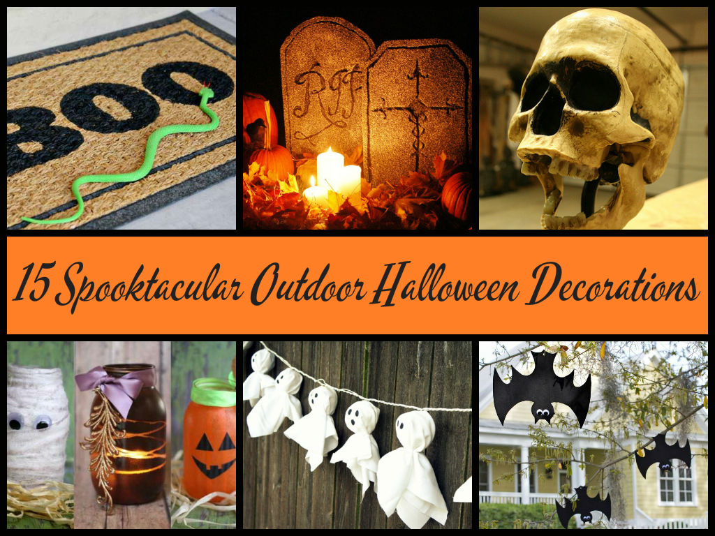 Awesome outdoor halloween decorations diycraftsguru for Awesome halloween decoration ideas