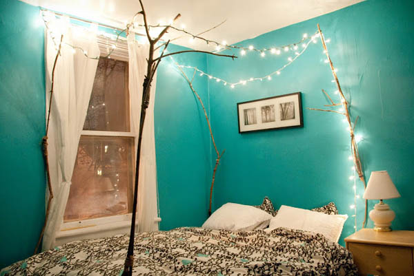 Cool Things You Can Do With Fairy Lights DIYCraftsGuru - Fairy lights in a bedroom