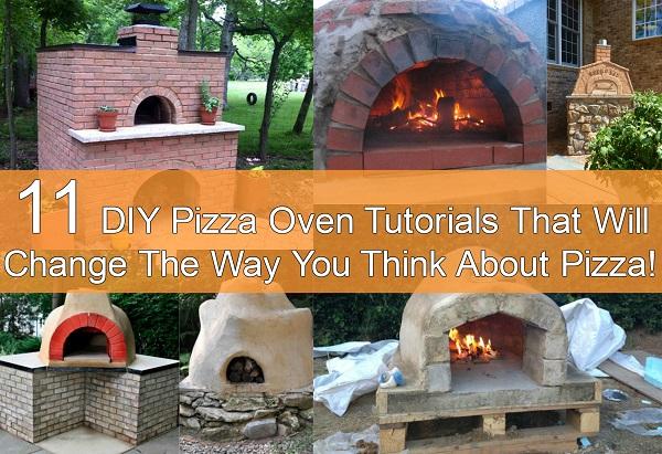 DIY Pizza Oven Tutorials - DIYCraftsGuru