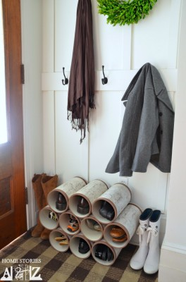 PVC Piping May Not Sound Like A Good Shoe Rack Material, But I Can Assure  You, After You Follow A Few Simple Instructions, You Will Be Left With A  Cool, ...