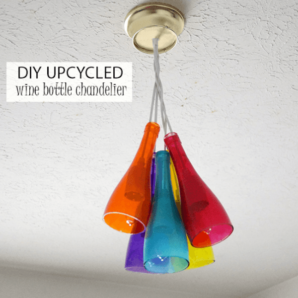 How to repurpose your empty wine bottles diycraftsguru for How to make your own wine bottle chandelier