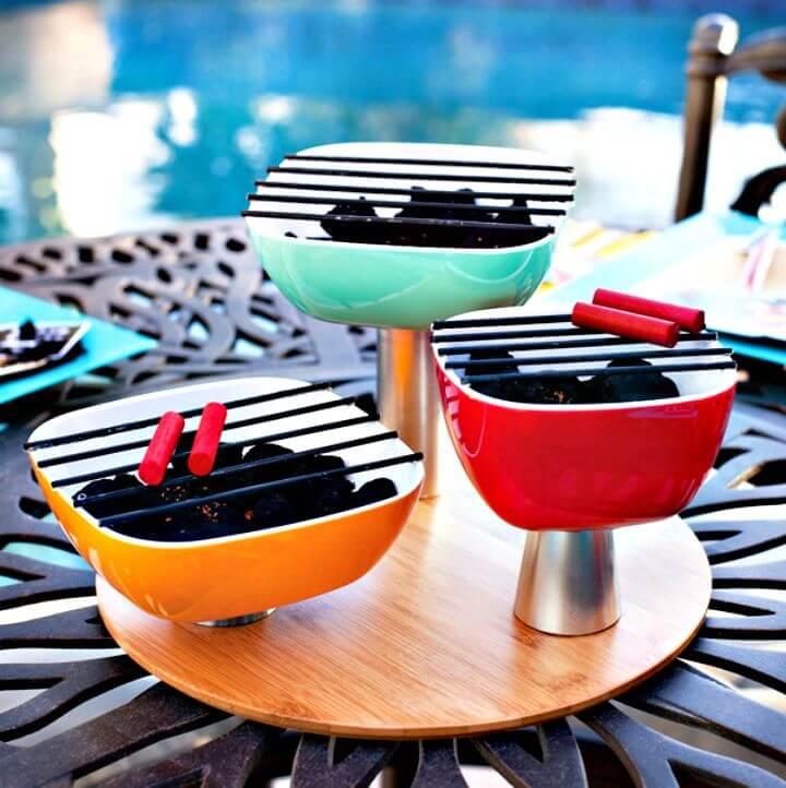 Amazing DIY Barbecue Grill Set Ideas