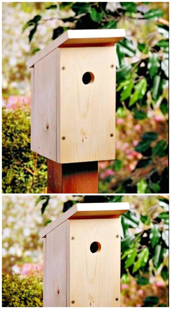 Easy And Cool DIY Birdhouse Ideas - DIYCraftsGuru