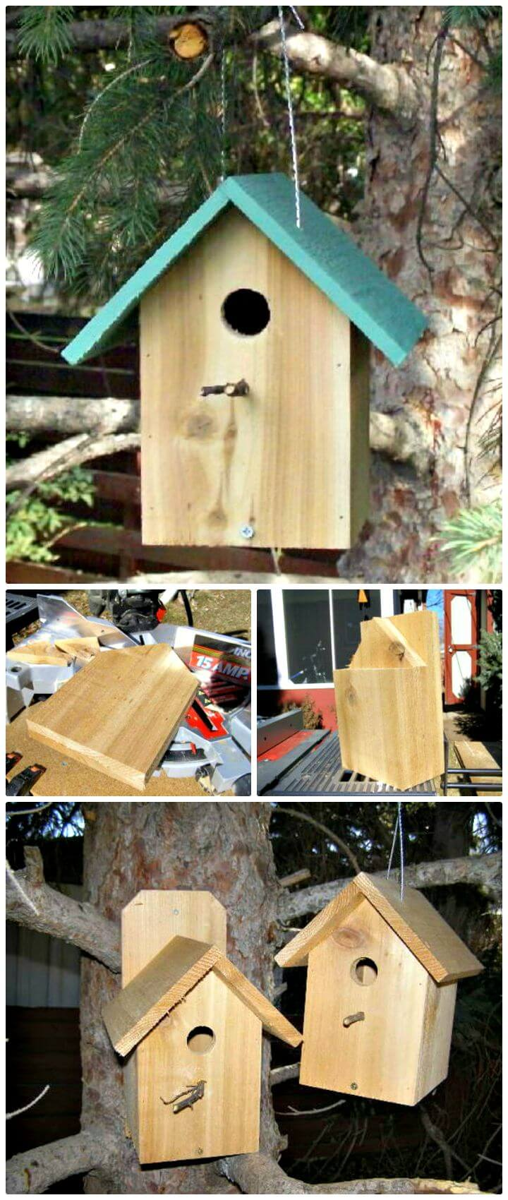 Easy And Cool Diy Birdhouse Ideas Diycraftsguru