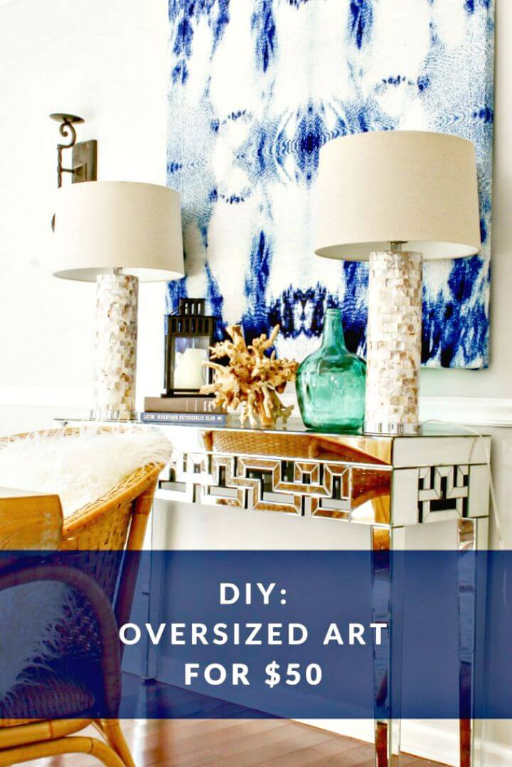 Cheap And Easy Diy Large Scale Wall Art Projects