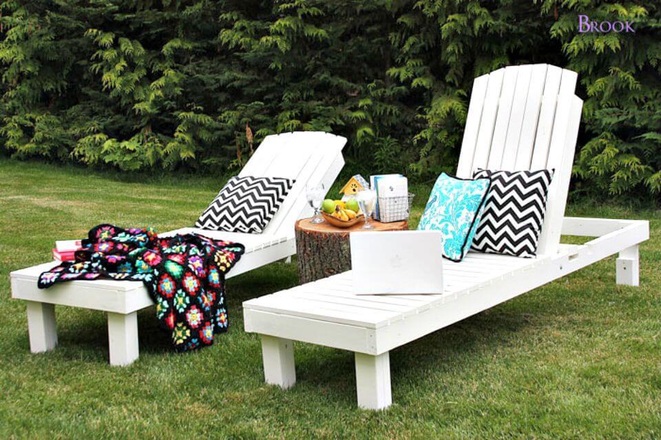 Tremendous Cool Diy Chaise Lounge Chair Tutorials Diycraftsguru Pdpeps Interior Chair Design Pdpepsorg