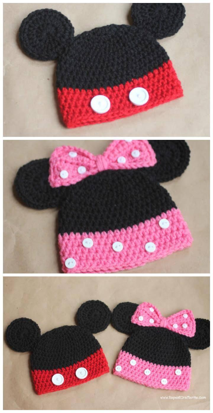 Baby Crochet Hat Tutorial