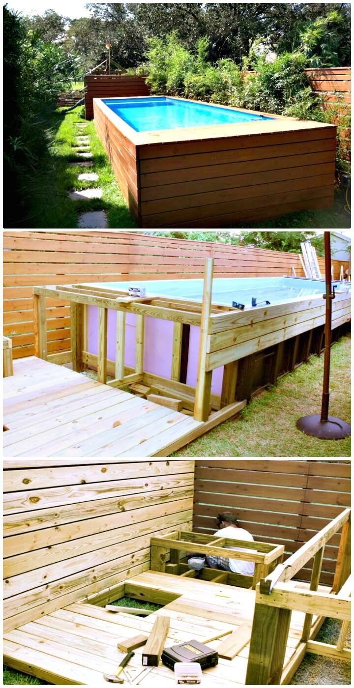 Diy Inground Pool >> Cheap And Easy DIY Swimming Pools - DIYCraftsGuru