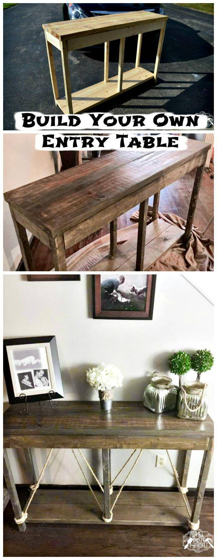 Amazing Diy Entryway Table Ideas Diycraftsguru