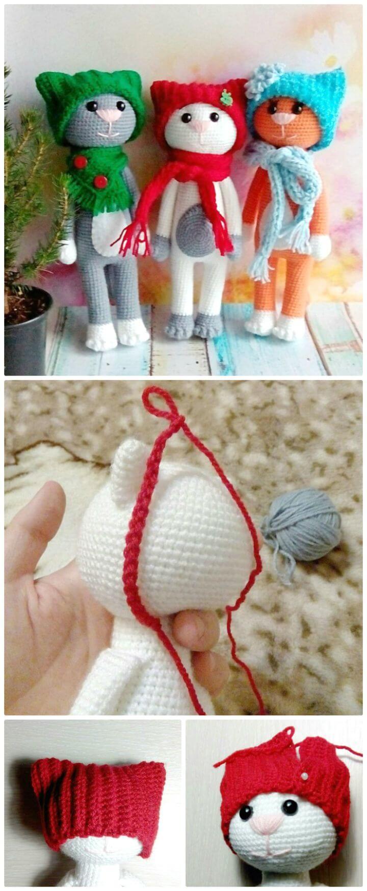 Easy Crochet Cat Patterns - Free Amigurumi Patterns • DIY & Crafts | 1749x720