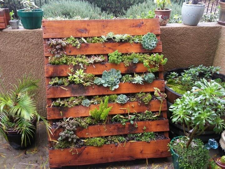 14 Diy Pallet Garden Planters Diycraftsguru