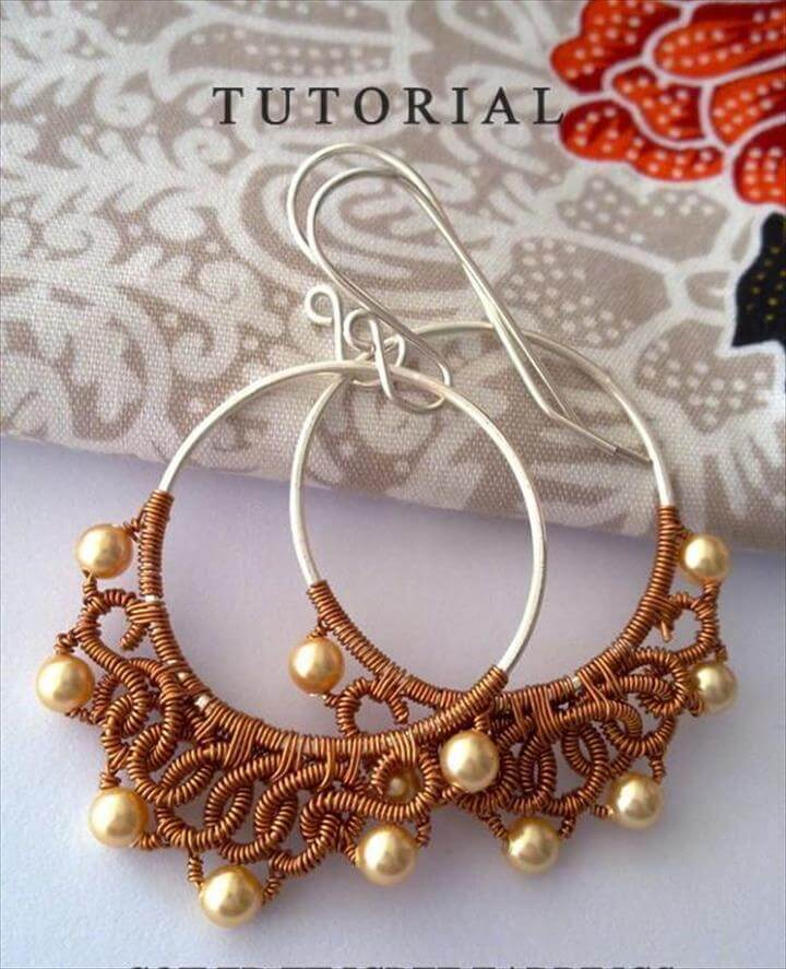 20 Awesome Diy Wire Wrapped Jewelry Ideas Diycraftsguru