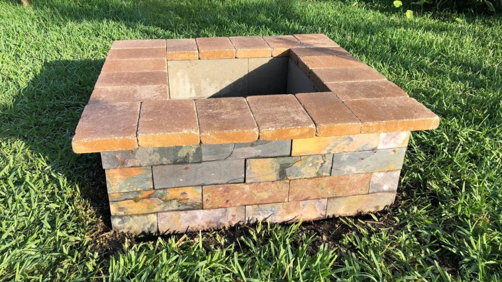14 Cool DIY Cinder Block Fire Pits - DIYCraftsGuru on Diy Cinder Block Fireplace id=89986