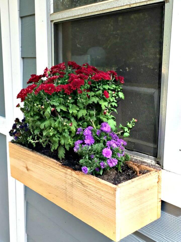 12 Diy Window Planter Box Projects Diycraftsguru