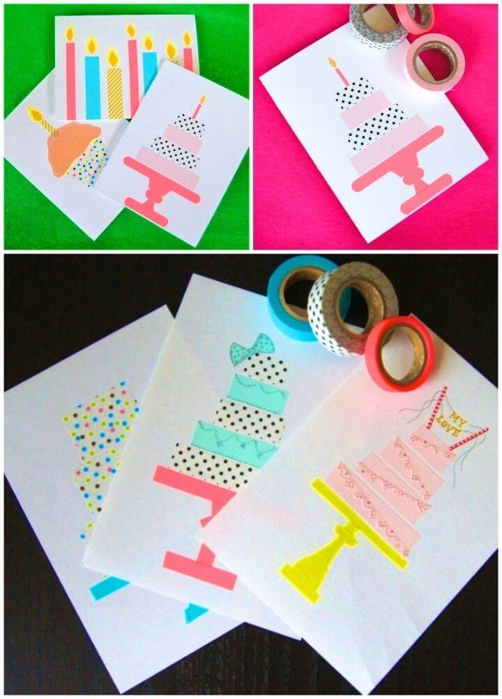 Peachy 18 Diy Birthday Card Ideas Diycraftsguru Funny Birthday Cards Online Alyptdamsfinfo